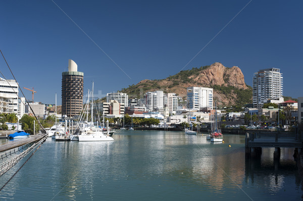 Townsville marina in Queensland, Australia Stock photo © photohome