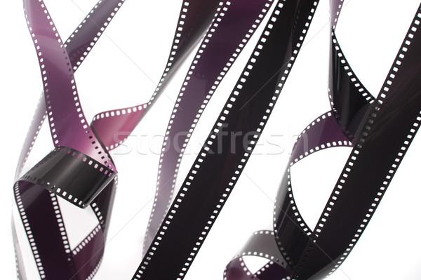 35mm film fehér védtelen retro háttér Stock fotó © photohome