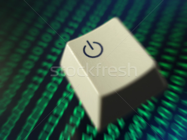Computer power Stock photo © photohome