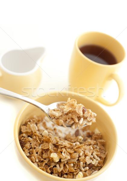 Puchar zdrowych musli śniadanie jedzenie Zdjęcia stock © photohome