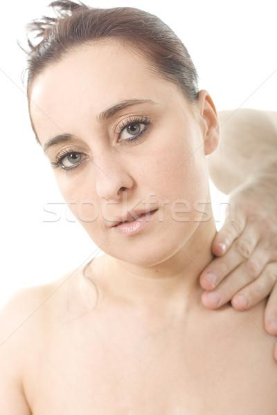osteopathy and massge Stock photo © Photoline