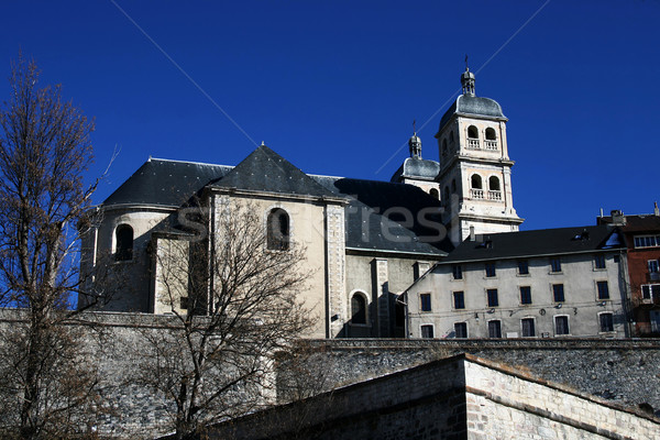 Christian basilica with tower Stock photo © Photoline