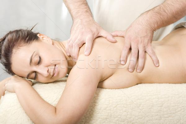 Body massage Stock photo © Photoline
