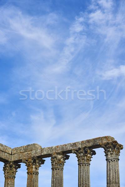 寺 ポルトガル 考古学的な ローマ タウン 市 ストックフォト © Photooiasson
