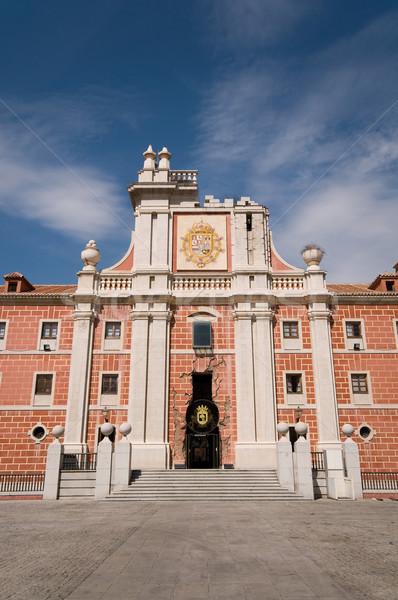 Cuartel del Conde Duque. Madrid, Spain Stock photo © Photooiasson