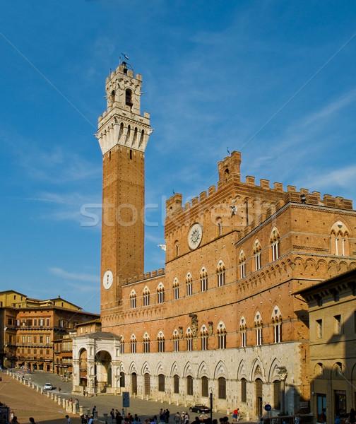 Palazzo Pubblico. Siena, Italy Stock photo © Photooiasson