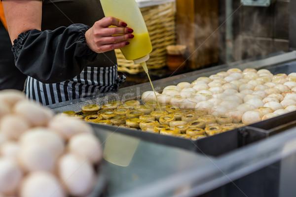 料理 キノコ キッチン 調理 レストラン 鉄 ストックフォト © Photooiasson
