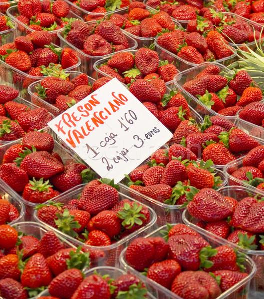 Ecological strawberrys Stock photo © Photooiasson