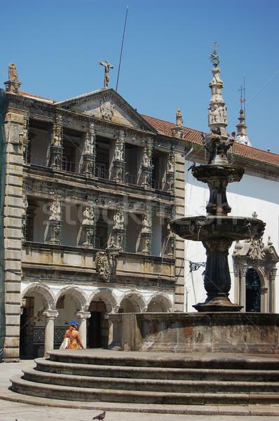 Church and Casa da Misericordia in the Republic Square. Viana do Stock photo © Photooiasson