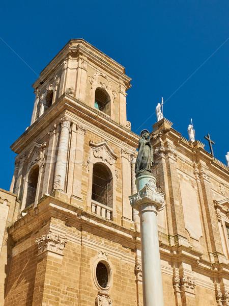 Papal Basilica Cathedral of Brindisi, Apulia, Italy. Stock photo © Photooiasson