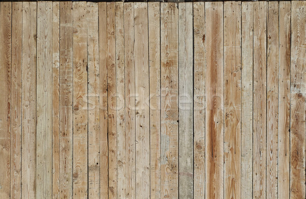Rustic wooden wall background texture. Stock photo © Photooiasson