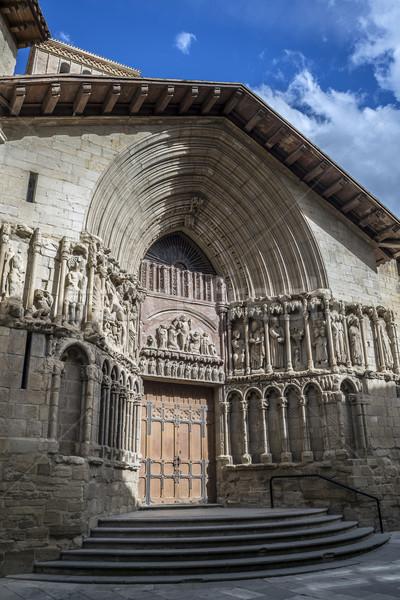 San Bartolome church in Logroño, Spain. Stock photo © Photooiasson