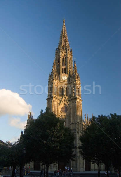 san sebastian - Buen Pastor Cathedral Stock photo © Photooiasson