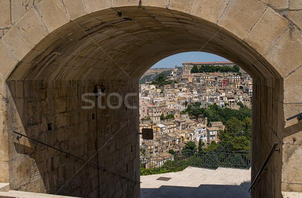 景観 シチリア島 イタリア 夏 アーキテクチャ 文化 ストックフォト © Photooiasson