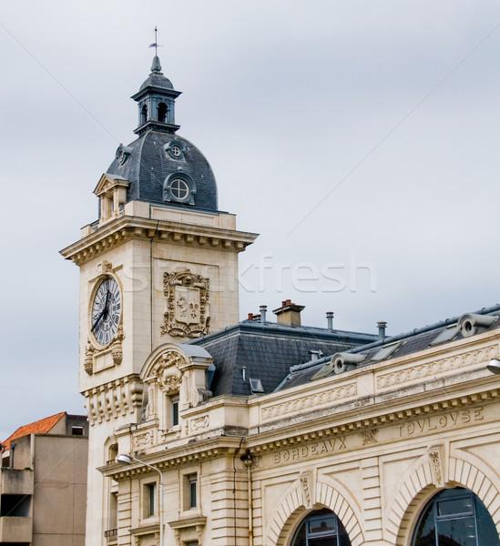 Bayonne train station. Aquitaine, France Stock photo © Photooiasson