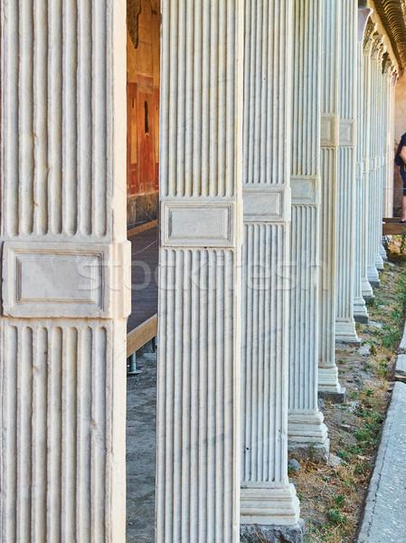 遺跡 古代 ローマ 市 イタリア 家 ストックフォト © Photooiasson