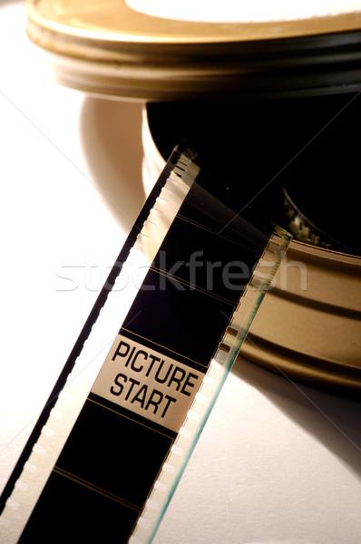 Film positive Bild starten Rahmen Kunst Stock foto © Photooiasson
