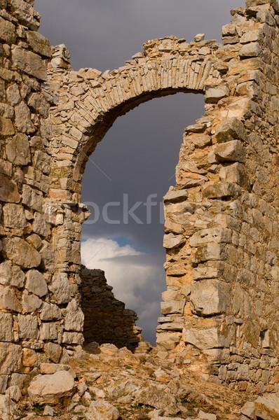 Demolished Castle Stock photo © Photooiasson
