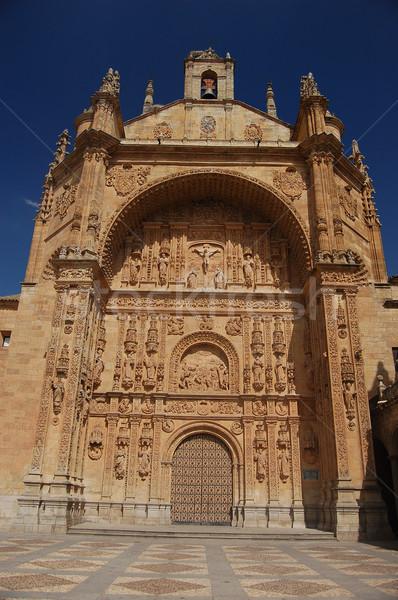 Stock photo: Convent of San Esteban in Salamanca. Spain