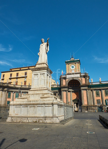 Piazza Dante in Naples. Campania, Italy. Stock photo © Photooiasson