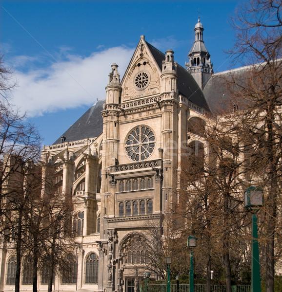 Saint Eustache Church in Les Halles, Paris. Stock photo © Photooiasson