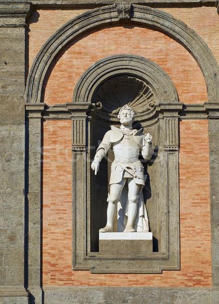 Standbeeld Italië Spanje heilig Romeinse keizer Stockfoto © Photooiasson