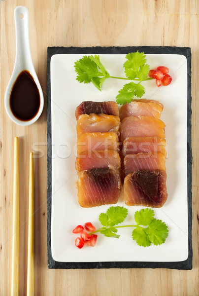 Tuna Sashimi Stock photo © Photooiasson