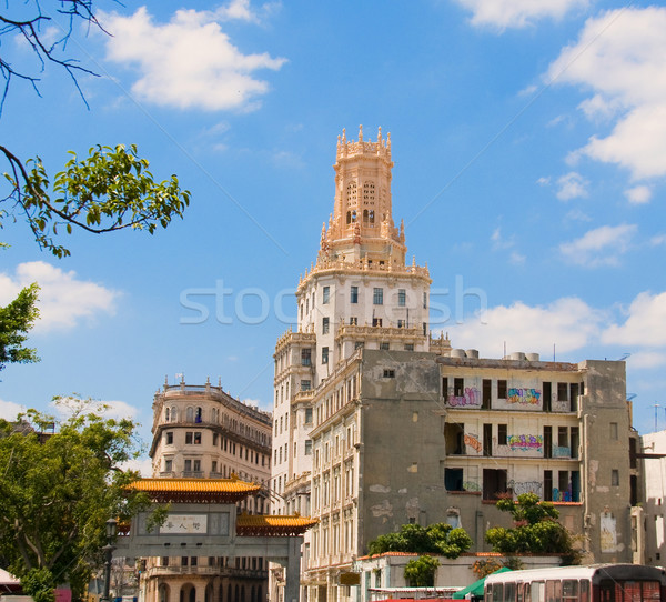 La La Havane Cuba porte bâtiment architecture Photo stock © Photooiasson