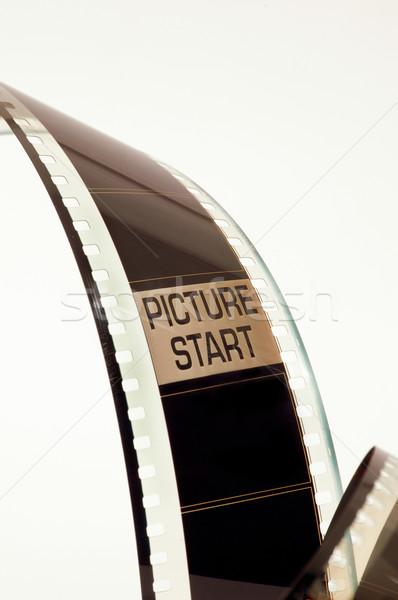 Film negatív kép kezdet keret művészet Stock fotó © Photooiasson