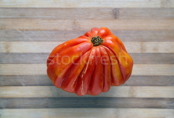 Fresh ecologic beefsteak tomato. Stock photo © Photooiasson