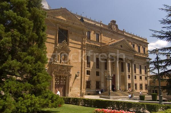 Anaya Palaca and Greater School of San Bartholomew. Salamanca, Spain Stock photo © Photooiasson