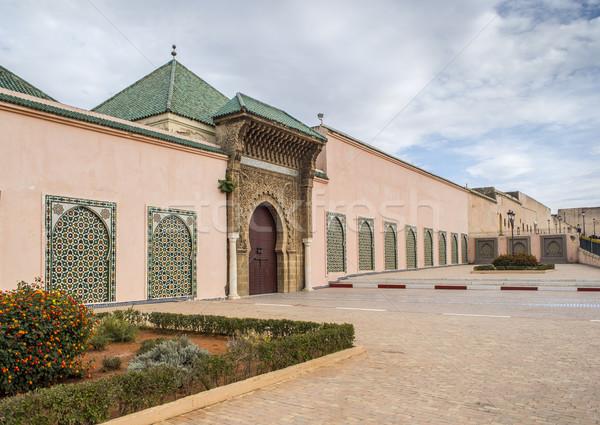 霊廟 モロッコ メイン 入り口 古い ユネスコ ストックフォト © Photooiasson