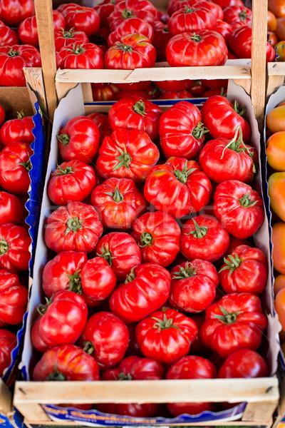 新鮮な トマト 市場 食品 農業 ストックフォト © Photooiasson