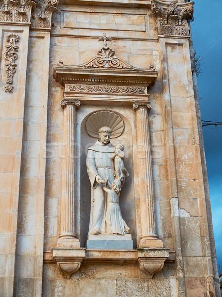 イタリア 像 教会 広場 ストックフォト © Photooiasson