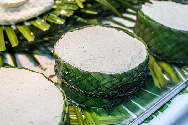 Jben, typical fresh cheese from north of Morocco. Stock photo © Photooiasson