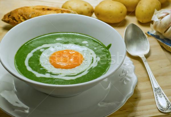 Nettle cream soup. Stock photo © Photooiasson
