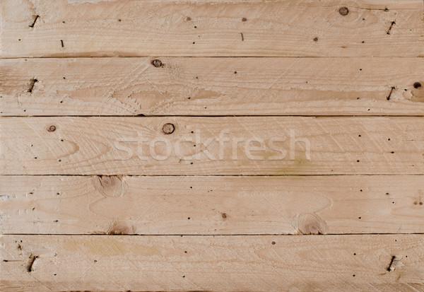 Panel ahşap doku eski rustik doku duvar Stok fotoğraf © Photooiasson
