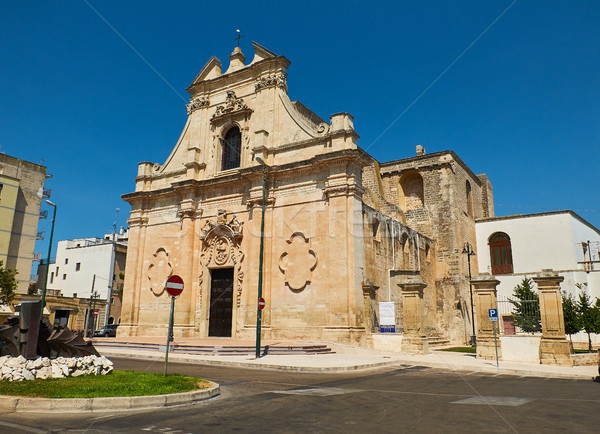 Santa Maria delle Grazie church. Galatina, Apulia, Italy. Stock photo © Photooiasson