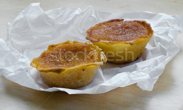 Typique gâteau dessert tarte Portugal Photo stock © Photooiasson