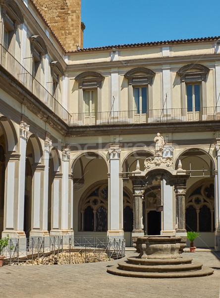 ナポリ イタリア モニュメンタル 複雑な 建物 教会 ストックフォト © Photooiasson