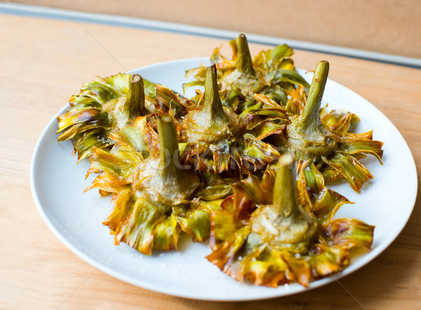 Fried artichokes. Stock photo © Photooiasson