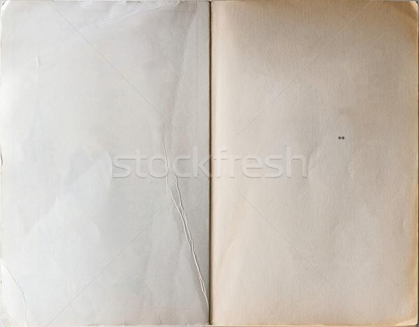 Livre première page vieux livre Photo stock © Photooiasson