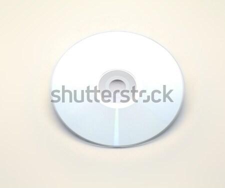 Zwarty dysku odizolowany niebieski biuro technologii Zdjęcia stock © Photooiasson