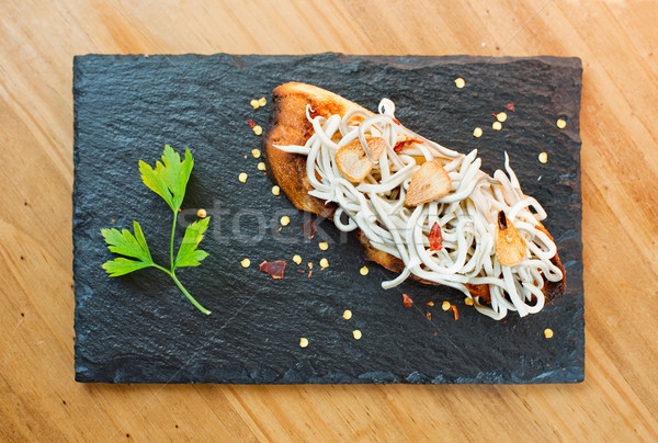 Typique espagnol plaque alimentaire poissons bar Photo stock © Photooiasson