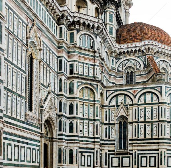 Floransa katedral opera İtalya güney Stok fotoğraf © Photooiasson