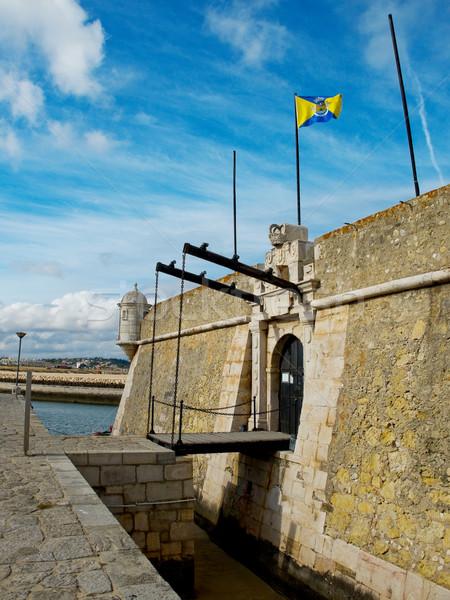 Ponta da Bandeira Fort. Lagos, Algarve. Portugal. Stock photo © Photooiasson