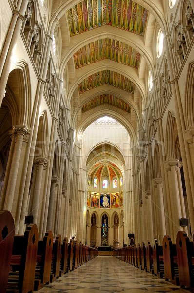 大聖堂 マドリード スペイン ドーム 光 ウィンドウ ストックフォト © Photooiasson