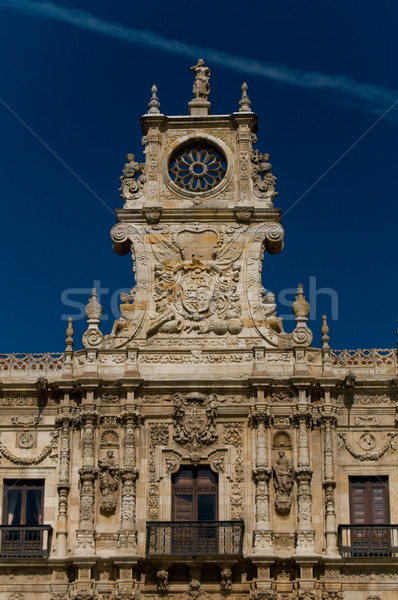 San Marcos Monastery in Leon. Spain Stock photo © Photooiasson