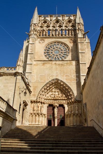 ゴシック 大聖堂 スペイン 南 顔 ストックフォト © Photooiasson