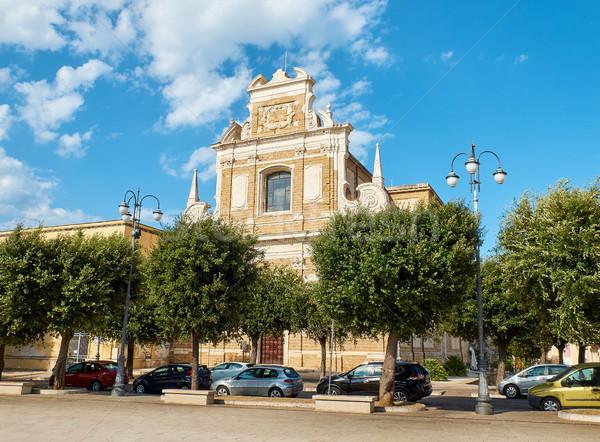 Chiesa Santa Teresa church of Brindisi, Apulia, Italy. Stock photo © Photooiasson
